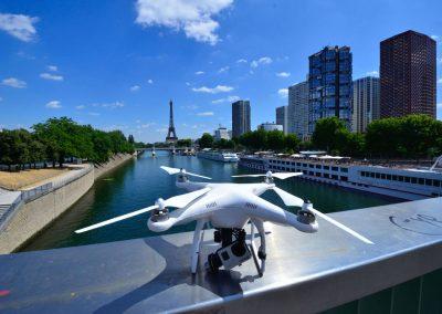 Matrimonio Drone Parigi