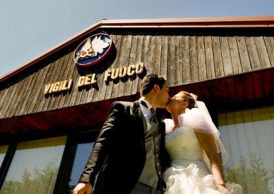 vigili fuoco matrimonio