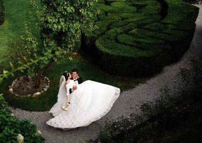 destination wedding italy wedding drone photo19